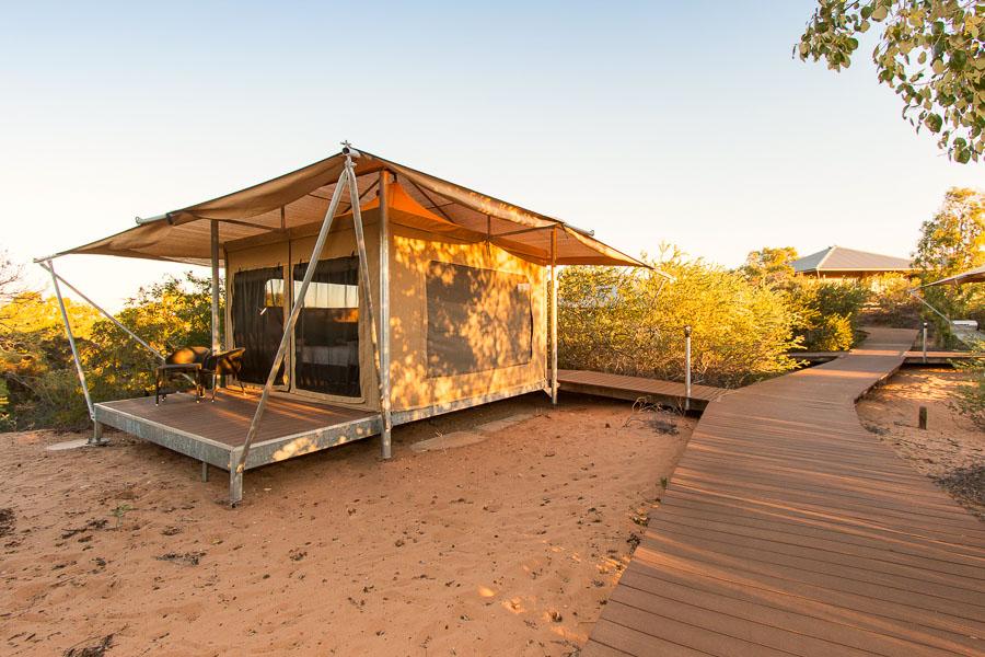 Eco Tents Eco Beach Resort